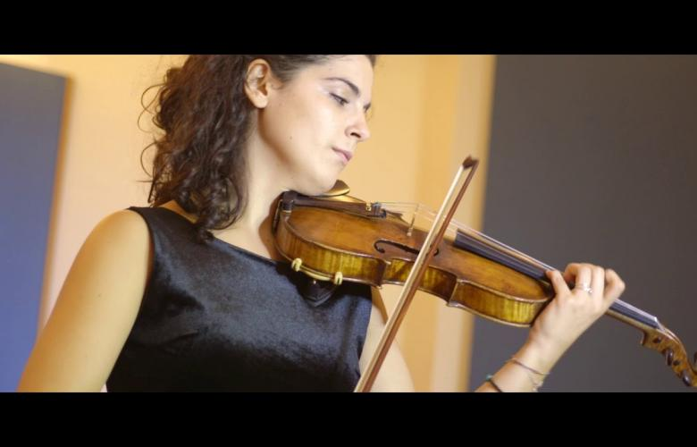 Embedded thumbnail for Veronica - violino